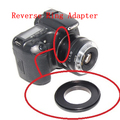 Macro anel reverso adaptador para eos adaptador de montagem do corpo para 77mm 77 lente para lente canon ef ef-s