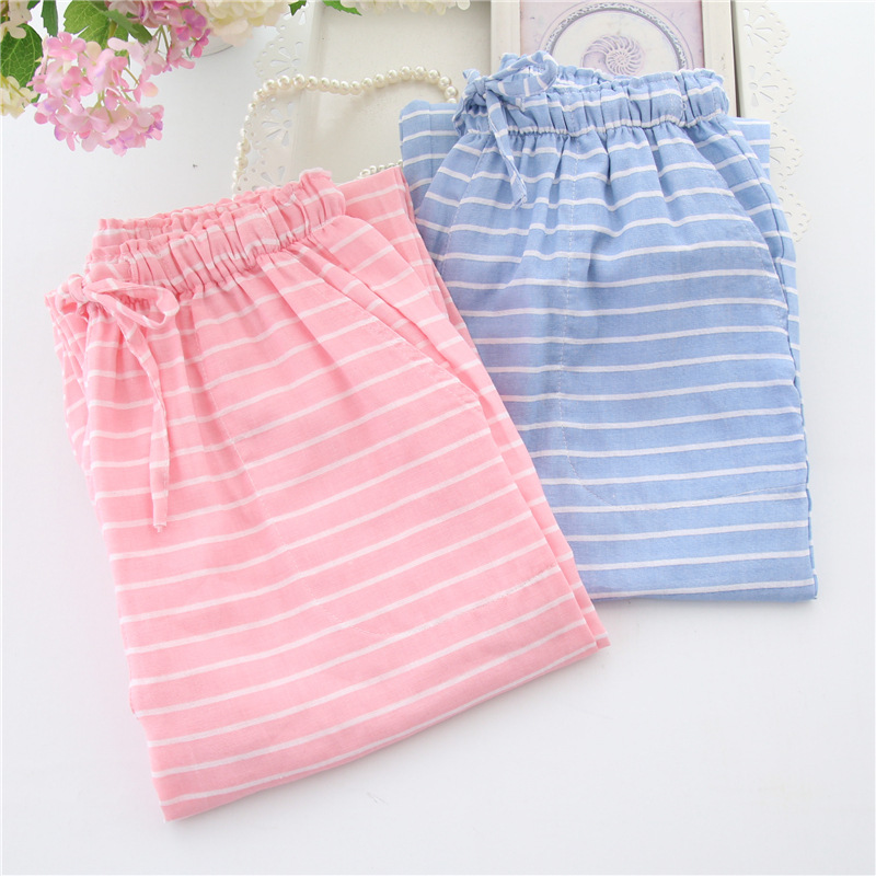 10 colors women s pajamas pants simple style cotton long pants for lounge and sleepwear floral