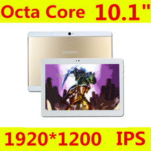 Promoción 10.1 pulgadas bobarry s109 tablet pc tablet pc octa Core Android 6.0 Tablet pc de Pantalla IPS GPS portátil Rom 32 GB
