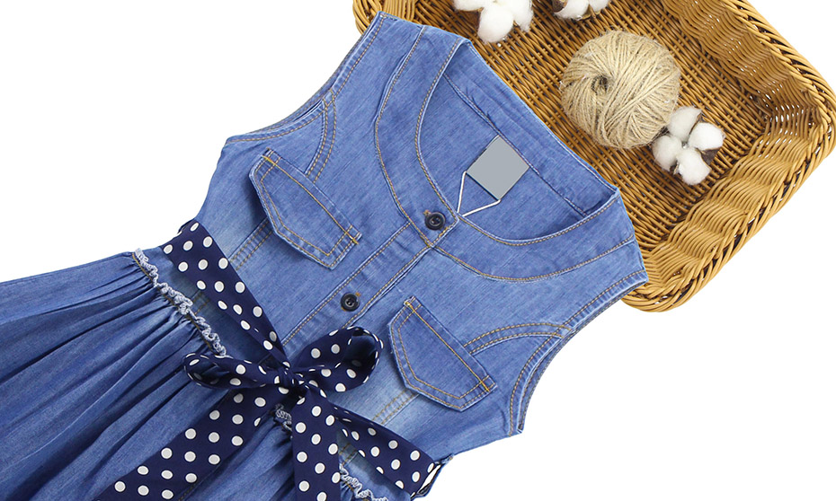 HTB1LhHQQMHqK1RjSZFEq6AGMXXaK - Summer Dress For Girls Sleeveless Denim Dress Girl Big Girls Party Dress Kids Summer Clothes For Kids Girl 6 8 10 12 13 14 Year