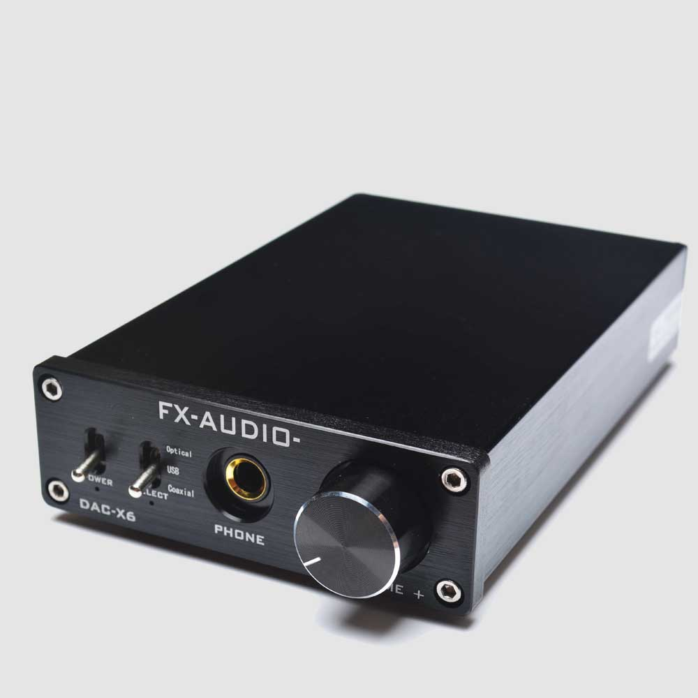 Free shipping Audio DAC-X6 Fever HiFi AMP USB Fiber Coaxial Digital Audio Decoder DAC 24BIT / 192 amplifier+Free earphone hot sale dac board optical fiber coaxial usb dac decoding amp board