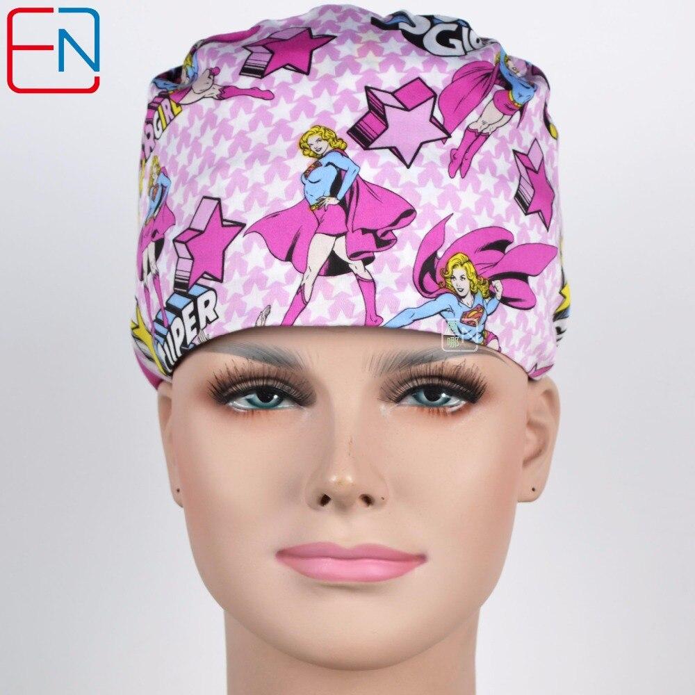 New 180313 Hennar Brand Unisex Surgical Caps Manwei