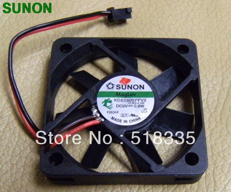 Original  Sunon KDE0504PFV2 Maglev Vapo DC 5V Fan 4CM 4010 40x40x10MM 0.7W Cooling Fans CPU