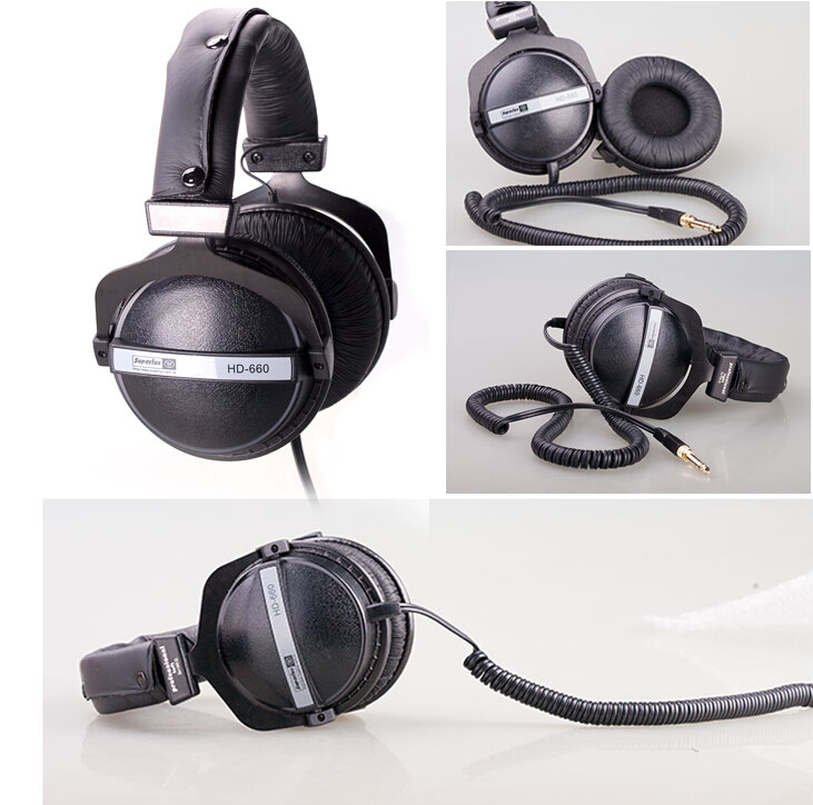 Superlux HD660 Professional Audio Monitoring  tereo Close Dynamic noise isolating  game headphone DJ Hi-Fi Headphones Headset интерком система superlux hmd 660x