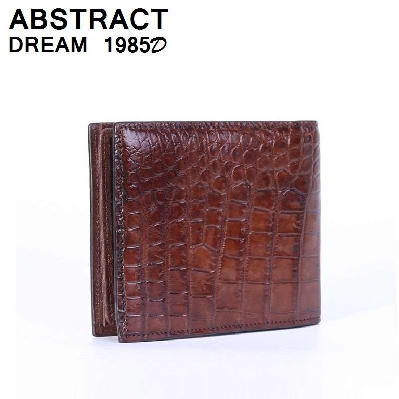 d90bc48dfc Detail Feedback Questions about 100% Genuine crocodile skin wallet 2019 new  designer Classic man fashion cardholder alligator leather purse scholarship  for ...