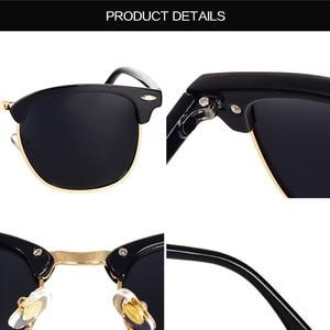 Image 3 - Новинка 2019, Классические поляризованные солнцезащитные очки для мужчин и женщин, Ретро стиль, фирменный дизайн, солнцезащитные очки для женщин и мужчин, модные зеркальные солнцезащитные очки