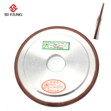 Resin Bond PSX Diamond Grinding Wheel for slotting tungsten carbide double tapered grinding wheel 150 Grit 75%(125x6x32x6mm) 75% 400 grit resin bond bowl shape diamond grinder grinding wheel tool