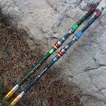 Super Hard 3.6m Carbon Fiber Telescopic Fishing Rod Portable Spinning Pole Boat Rock Fishing Rod