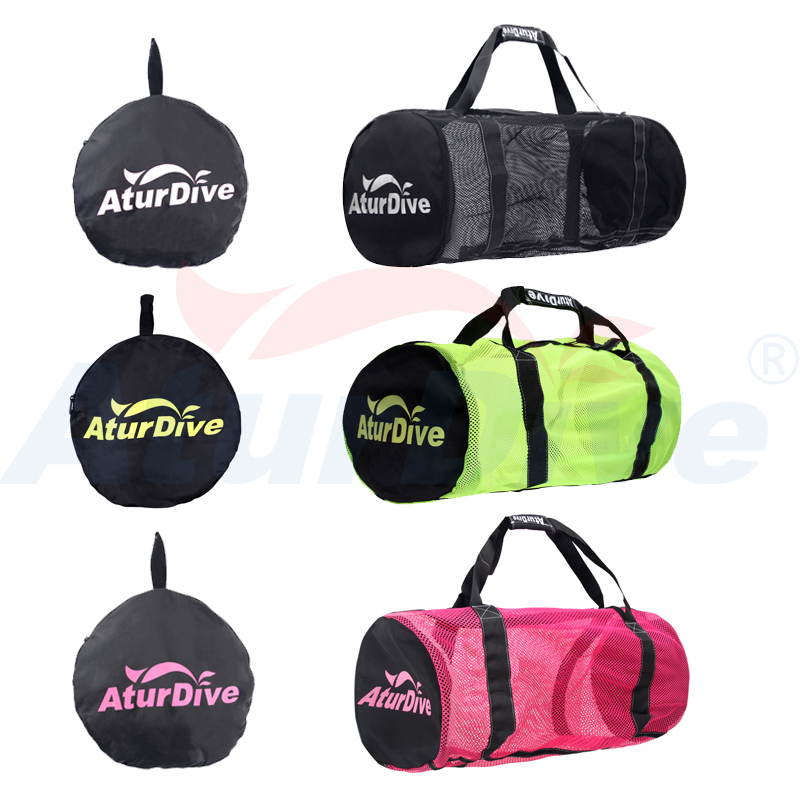 Underwater ventilatorynew large capacity diving equipment package bag flippers can house outdoor travel bag fins bag Black Pink diving equipment