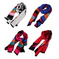 2016 European American Style Autumn Winter New Five Point Star Decoration Women Keep Warm Scarf Ladies Match Clothes Scarf