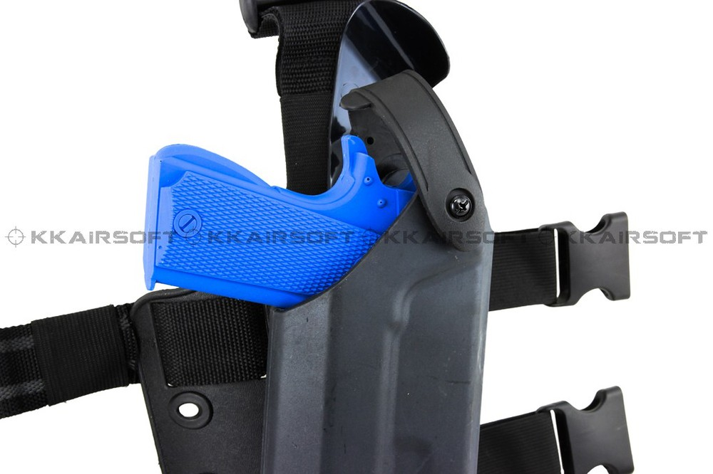 Safariland Tactical gun holster Drop Leg Holster for 1911 Airsoft with flashlight bd2290 high quality gun holster military waist safarland 6335 1911 holster tactical gun holster