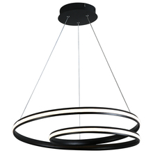 Simple modern Acrylic Round living room chandelier restaurant lamps LED Lustre bedroom Chandeliers Lighting Fixture Dimmable modern designer dining room led pendant chandelier lighting lustre acrylic bedroom led chandeliers lamp round led hanging lights