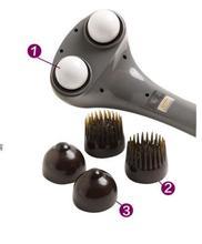 Electric body massager electric cervical vertebra massage device infrared back massage hammer neck leg full-body massager