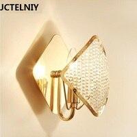 Modern Creative Crystal Wall Lamp Luxury Villa Decorative Wall Lamp Bedroom Bedside Designer Wall Lamp Corridor