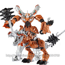 JIANG WEI BARU Anime Transformasi 5 Action Figure Mainan Robot Model Tangki Model mobil Klasik Keren juguetes Boy Mainan Dinosaurus hadiah