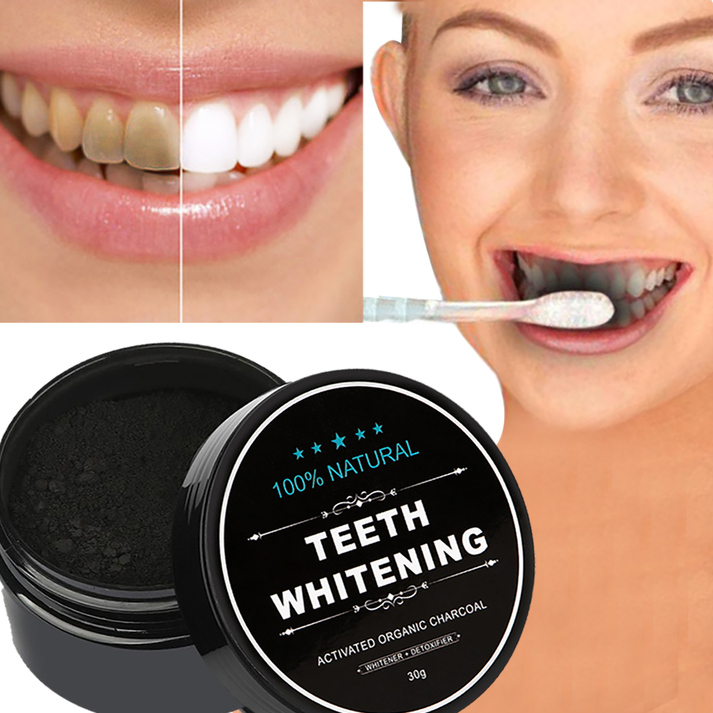 Toothpaste Whitening-Powder Stain-Removal Activated Bamboo-Charcoal Natural-Teeth Tartar