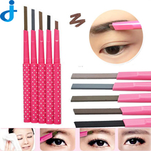 1PC Waterproof Shadow Eyebrow Pencil Kit Cosmetics Brow Pen Women Shaper Makeup Liner Powder/Eye Brow Card Tool 11 Chooses H90