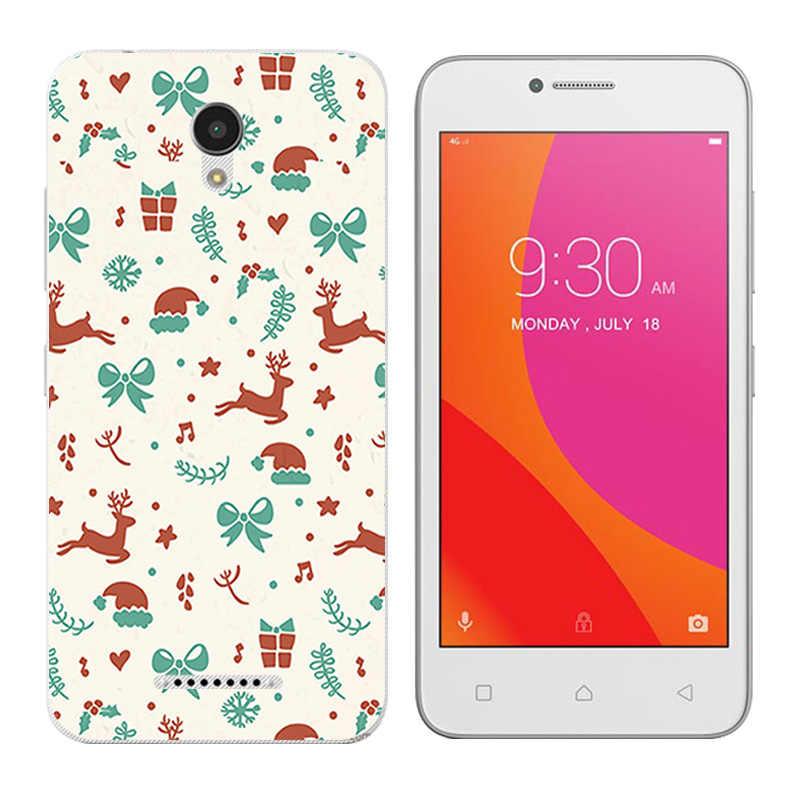 Para Lenovo Vibe B A2016 A1010 A20 un Plus APlus A1010a20 A2016A40 feliz Día del teléfono de la impresión casos cubierta de silicona para a1010