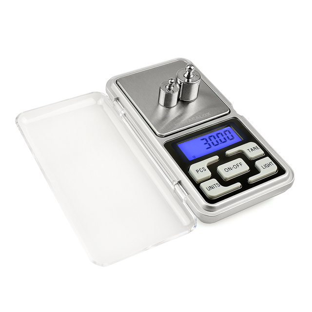 For Gold Bijoux Sterling Silver Scale Jewelry 0.01 Weight Electronic Scales  NEWACALOX 200g x 0.01g Mini Precision Digital Scales