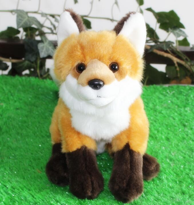 Stuffed Animals  Toys  Baby Grass Foxes  Gifts  Home  Accessories  Mascot  Doll Simulation Red Fox stuffed toys