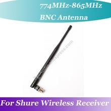 Pro 774MHz 865MHz OEM BNC Rubber Antenna for Shure U4D U4C UA UHF Wireless acceptor Receiver