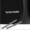 3D Harman/Kardon hi-fi altavoces estéreo de altavoces de aluminio emblema de la insignia Etiqueta Engomada Del Coche Accesorios Styling