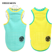 HELLOMOON Spring and Summer Dog Clothes Fashion Style Shirt Teddy Schnauzer Clothing dog summer vest