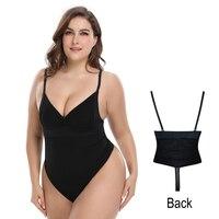 Hot Women's Body Shaper Thong Seamless Slimming Tummy Control Panties BodySuit Shaperwear S 5XL