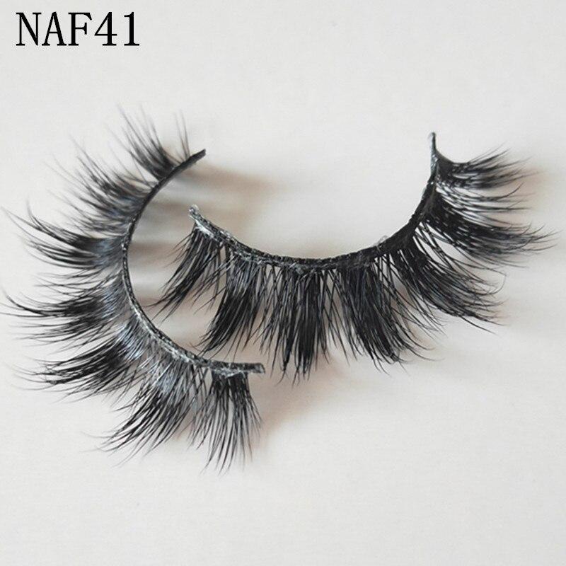 3D Mink Fake lashes Natural Long Thick False Eyelashes Handmade High Quality UPS Free Shipping 50pair