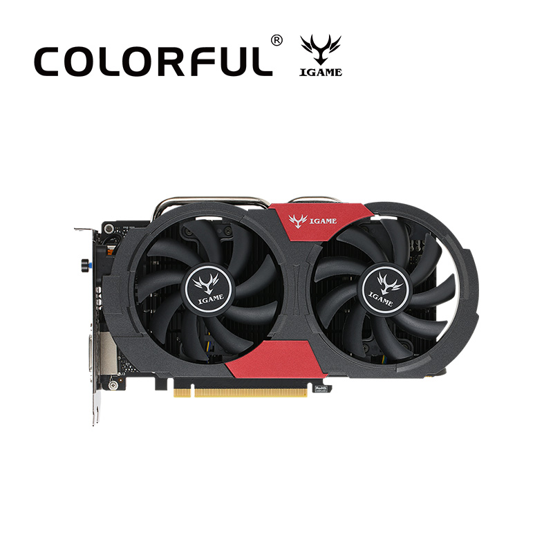 Colorful GTX 1050Ti NVIDIA Graphics Card GeForce iGame 4GB GDDR5 128bit PCI-E X16 3.0 Gaming For PLAYERUNKNOWN'S BATTLEGROUNDS