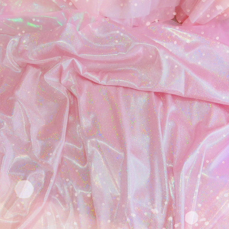 1pc Dreamy Rectangle Mermaid Scales Handmade Sequins Background Laser Shiny Tablecloth Decorative Cloth 100cm*150cm