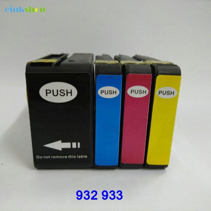 Einkshop compatível Cartuchos de Tinta de substituição para HP 932 - Eletrônica de escritório - Foto 3