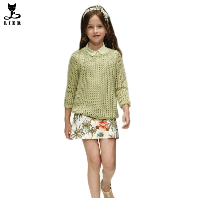 New 2017 Winter&Autumn Baby Girls Sweaters Long Sleeve Infantil Girl Cardigan Sweater Coat Children Pullovers Outerwear CG062