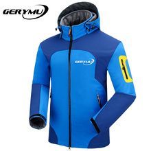 Spring Outdoor Softshell Jacket Men Hunting Hiking Waterproof Polartec Trekking Windbreaker Clothing Rain Climbing Sport Coats