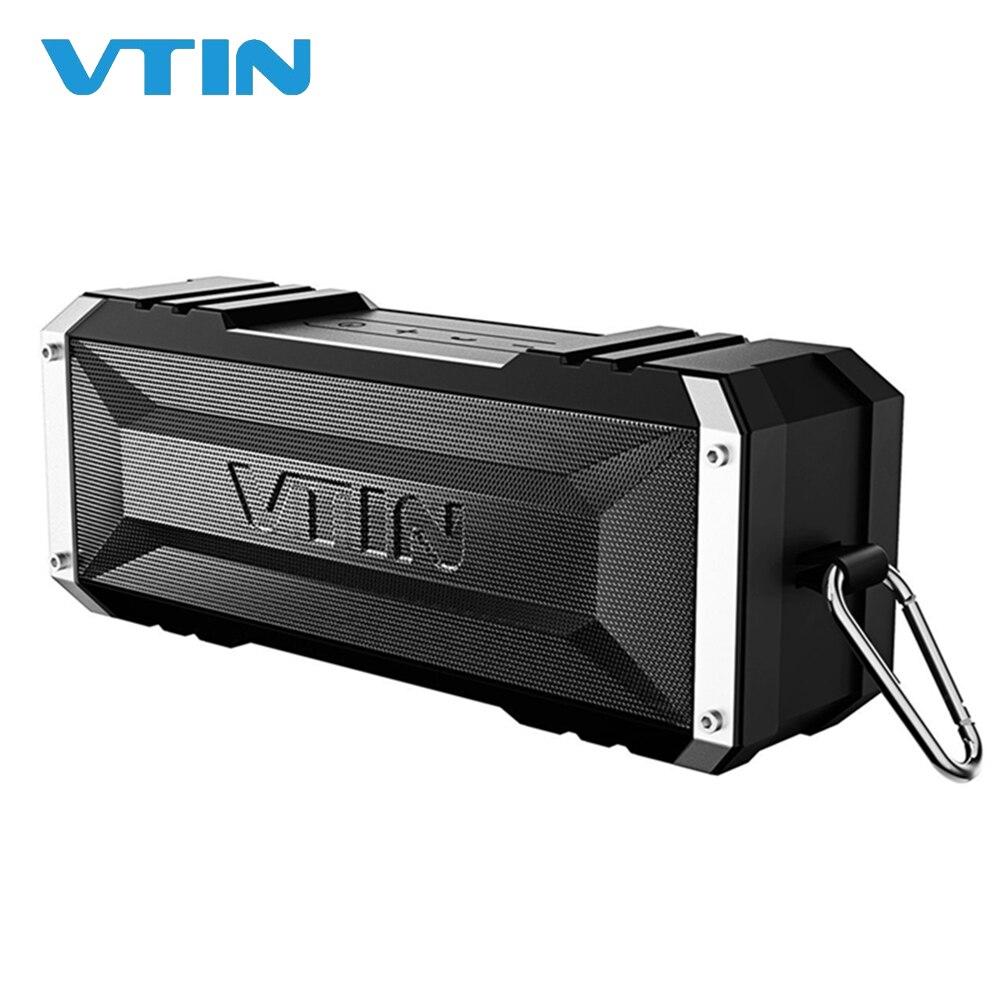 VTIN extérieur Bluetooth haut-parleur sans fil Punker 20 W fort Volume 30 heures Playtime Portable sans fil haut-parleur avec micro