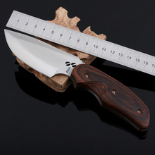 HOT Survival Knife Fixed 7CR17MOV Blade Knife BUCK Fruit Camping Knives Tactical Hunting Knifes Outdoor Tools K288