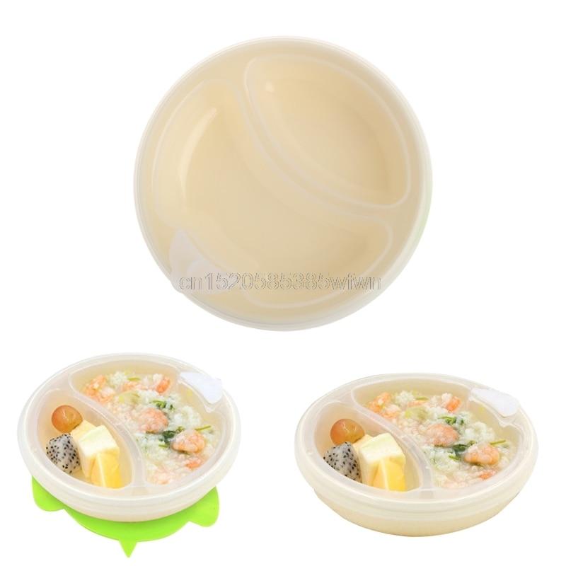 1pc Baby Warming Plate Dish Bowl Hot Water Insulation Feeding Dinnerware Tableware #HC6U# Drop shipping