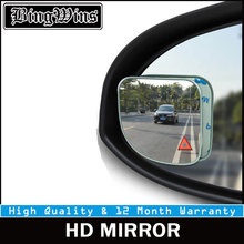 купить 1Pc Car Mirror Auto 360 Wide Angle Round Convex Mirror Car Vehicle Side Blindspot Blind Spot Mirror Small Round RearView Mirror дешево