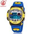 Marca OHSEN Niños Deportes Relojes LED Digital de Cuarzo Reloj de Pulsera Del Relogio masculino Impermeable Al Aire Libre AS16