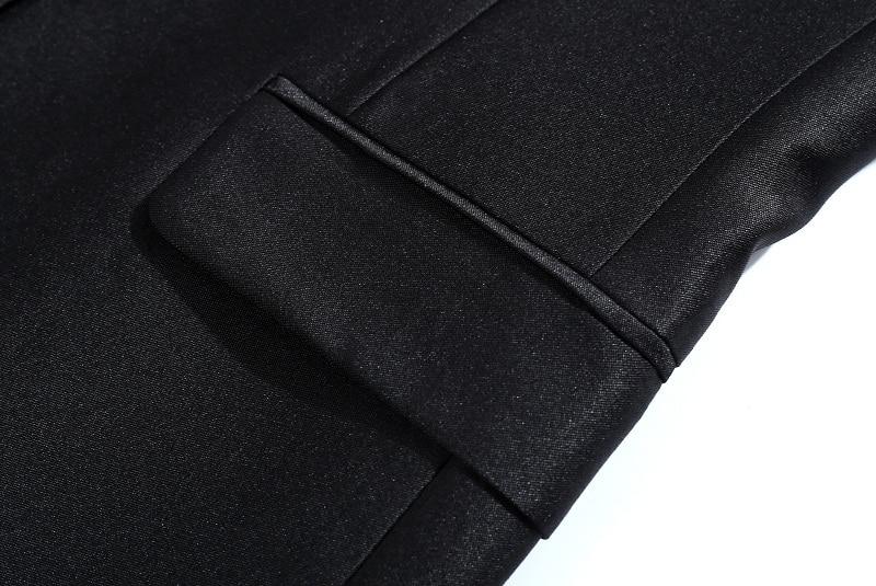 TIAN QIONG შავი ქაშაყის რეტრო - კაცის ტანსაცმელი - ფოტო 5