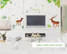 The Wizard Of OZ Household Adornment Wall Paper Creative Stickers  Furnishing Art Wall Stickers 60*90CM Part 70