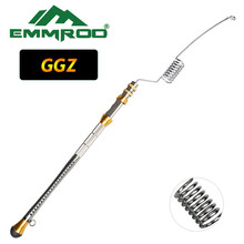 EMMROD Stainless Steel Telescopic Fishing Rod Tackle Boat/Raft Ocean Sea Spinning Bait casting GGZ