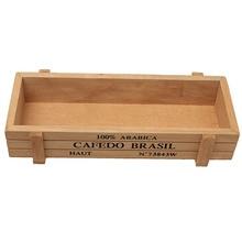 Antique Wooden Jewelry Storage Box