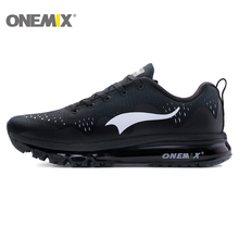 ONEMIX Genuine Air Cushion Running Shoes Woman Breathable Men Outdoor Comfortable Sports Durable Jogging Sneakers