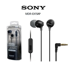 Original SONY MDR-EX15AP 3.5mm Wired Earbud In-ear Subwoofer Stereo Earphones Ha