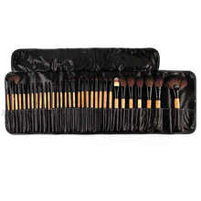 Hot 32Pcs Professional Soft Cosmetic Makeup Brushes  Make Up Brush Tool Kit Set  67KW