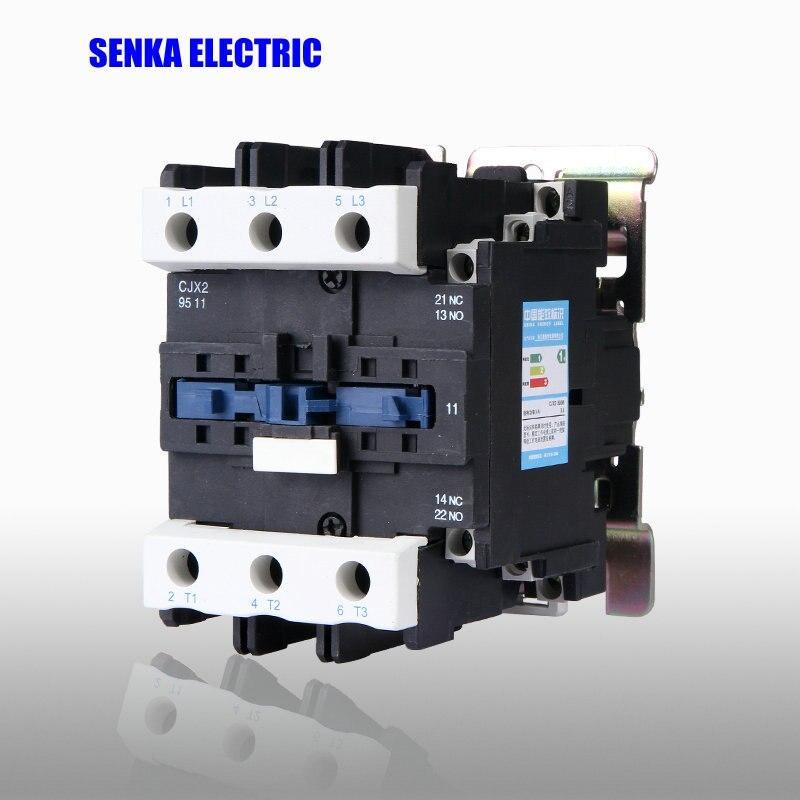95A 3P+NO+NC CJX2-9511 AC Contactor LC1-9511 220V 380V 110V 36V 24V