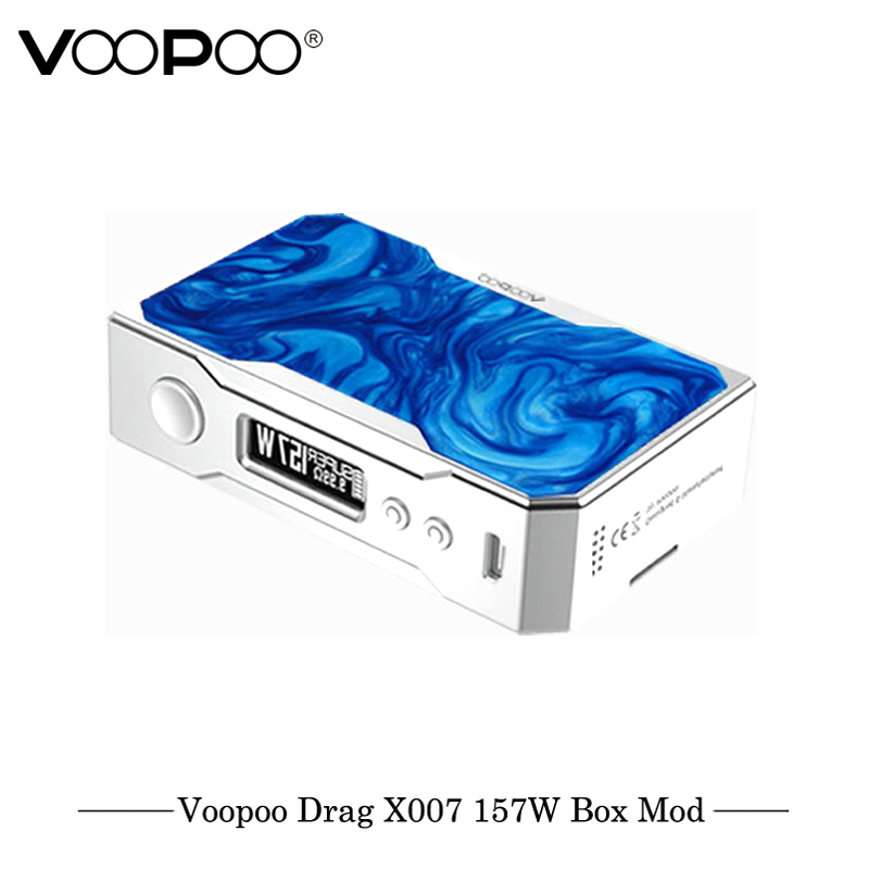D'origine VOOPOO GLISSER 157 w TC Boîte MOD e cigarette 18650 boîte mod Vaporisateur avec NOUS GÈNE puce de Contrôle De La Température résine mod VS Smok Mod - 3