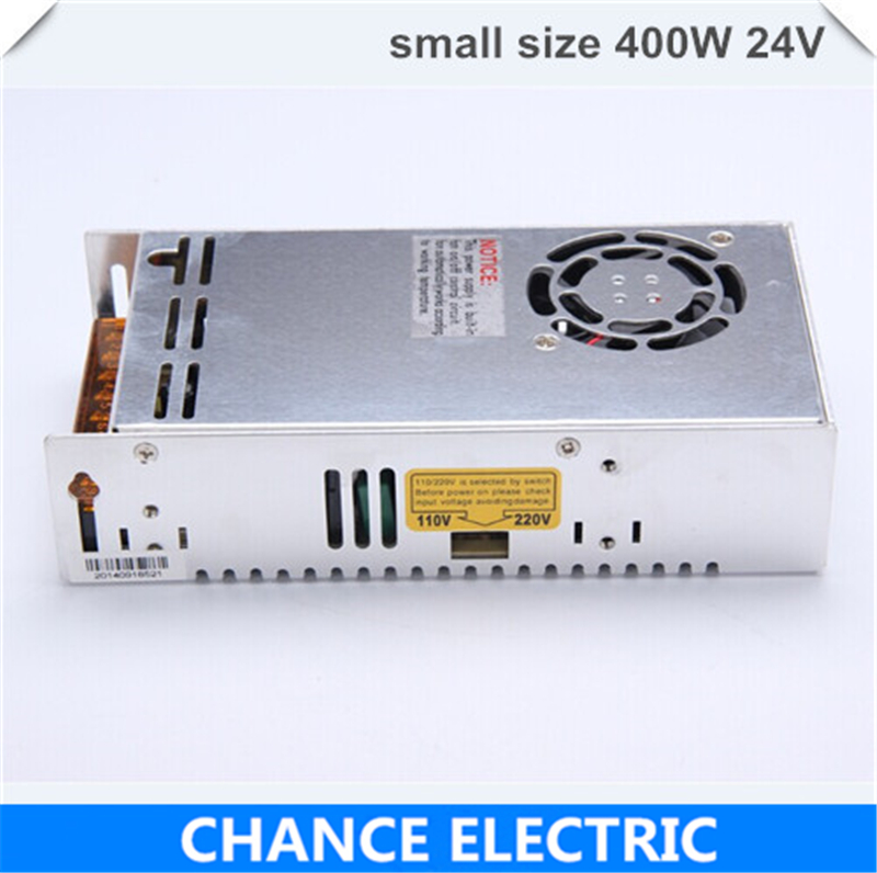 single output smaller volume LED Switching mode Power Supply mini size MS series 400W 24V 16.5A (MS-400W-24V) free shipping 35w 24v 1 5a single output mini size switching power supply for led strip light ms 35 24