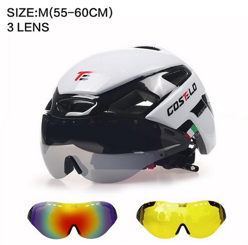 2017 Costelo Cycling Light Helmet MTB Road Bike Helmet Bicycle Helmet Speed Airo RS Ciclismo Goggles Safe Men Women 230g inbike 2017 cycling glasses gafas ciclism nxt lens uv400 proof bike eyewear goggles mtb road bicycle photochromic sunglasses